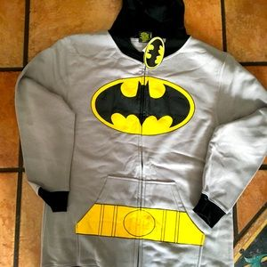 DC Batman Costume Hoodie Available L New